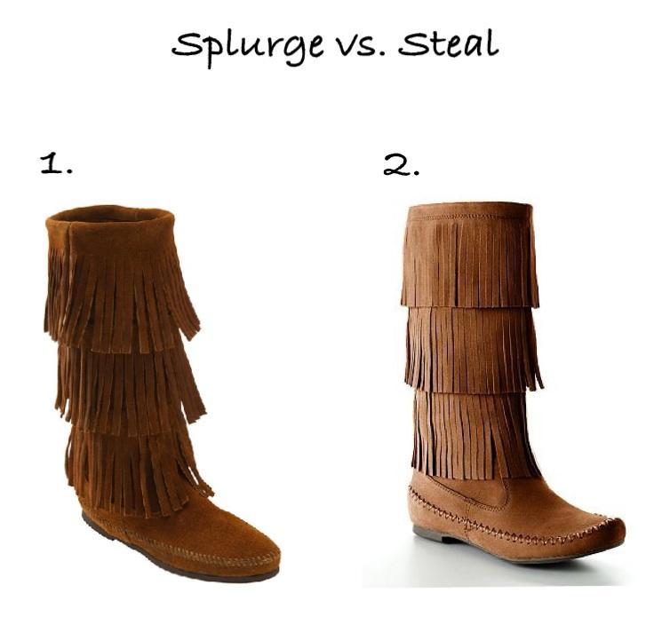 3 layer fringe boots cheapSplurge vs Steal   3 Layer Fringe Boots XkfTPUVc