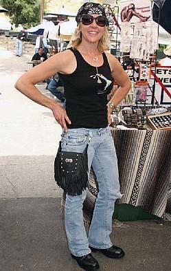 5 pocket black leather fringe purseBiker Ride Purses QI0OELdB