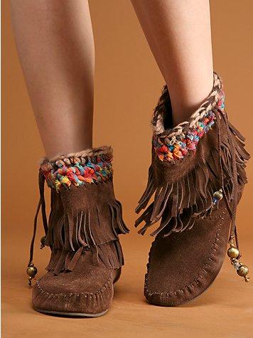 ankle fringe moccasin boots for girlsboots moccasins  Shop for boots moccasins on Wheretoget 74TK358i