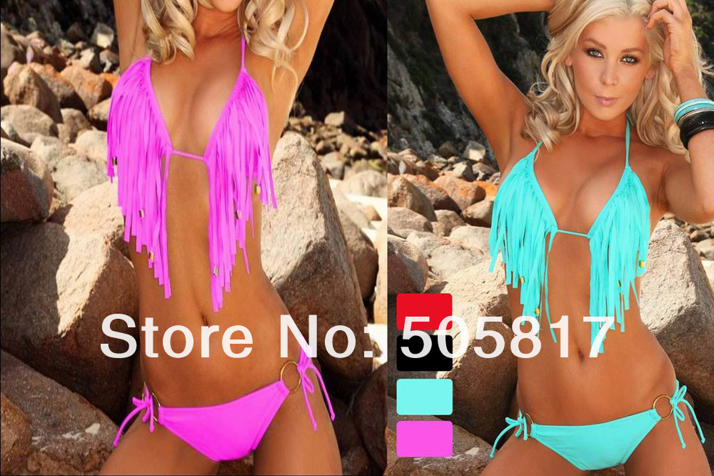aqua blue fringe bikiniCompare Prices on Aqua Fringe Bikini  Online ShoppingBuy Low FTO52vpi