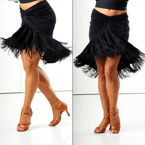 ballroom dance long fringe skirtsFringe Bell Latin Dance Skirt salsa latin ballroom dance skirt eXESO4t0