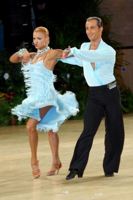 ballroom latin fringe dressLight Blue Fringe Latin Dress    000   AD Couture Latin bUBGuG87