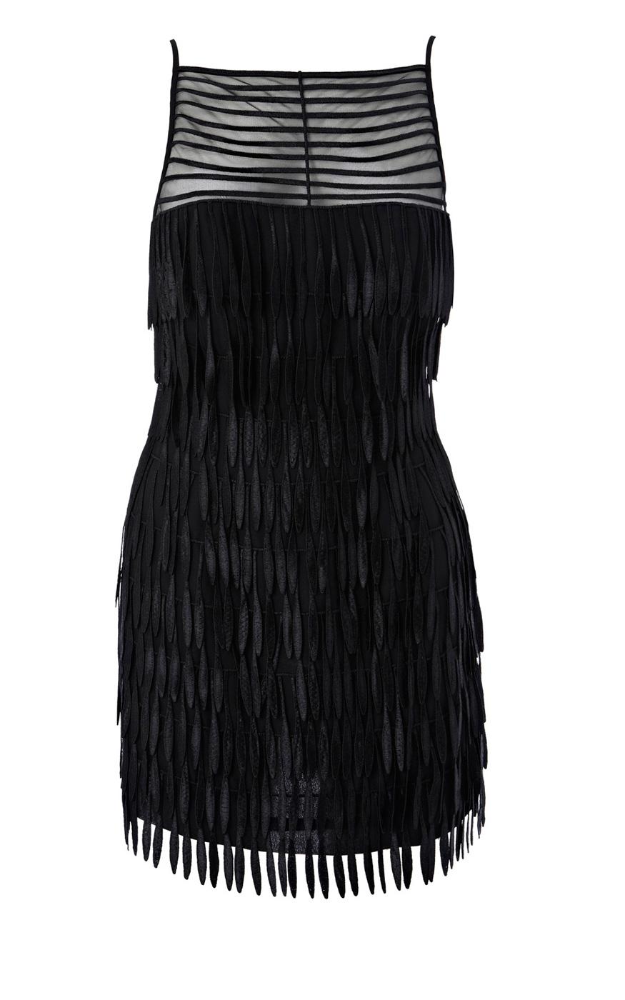 beaded fringe dress karen millenKaren Millen Fringed Dress Black  me37wo0338     20080   Karen A48ya1PI