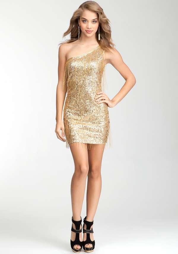 bebe gold fringe dressBuy Gold Fringe Dress     Bebe Addiction     Gld and Wear It xMZhO286
