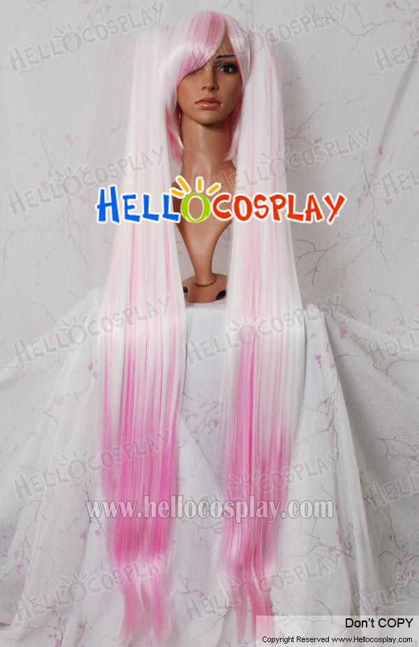 best cosplay wigsVocaloid 2 Hatsune Miku White Pink Cosplay Wig    5499   Hello PvGi0HDI