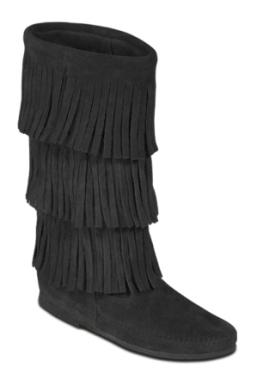 black black fringe moccasin bootsIMG border 0 SRC http wwwarrowgiftshopcommedia fL5o1ThF