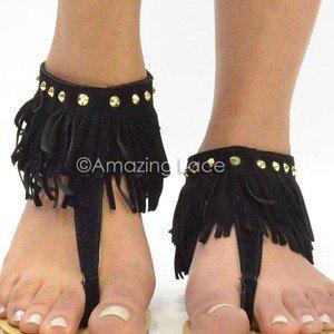 black fringe ankle sandalsoriginaljpg zZODz4Zx