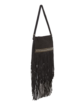 black fringe bag river islandRiver Island River Island Black Leather Chain Detail Fringe Bag NM5Zw80k