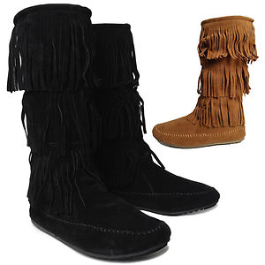 black fringe moccasin boots for girlsboots shoes fringe  Shop for boots shoes fringe on Wheretoget 9kXM5OSG