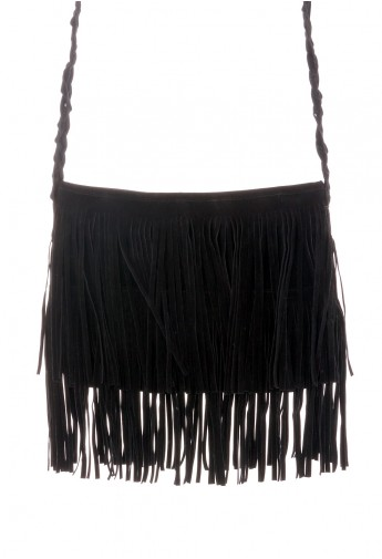 black fringe purseBlack Fringe Knit Strap Shoulder Bag   Retro Indie and Unique Fashion oXcBasMr