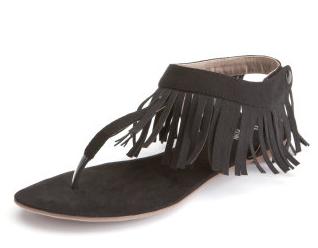 black fringe sandalsTeresa Giudices Black Fringe Sandals Big Blonde Hair   Big TOzC4Lo5