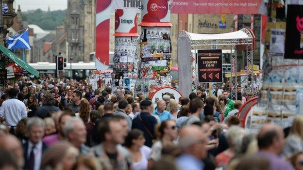 edinburgh fringe festival 2013BBC News   Edinburgh Fringe ticket sales up 5 ePTo24VM