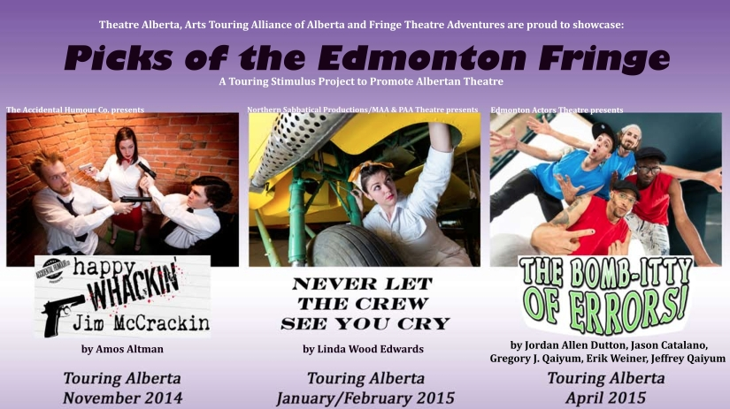 edmonton fringe festival 2015News  Alberta      Picks of the Edmonton Fringe    Scheduled to tour MWoqdy7T