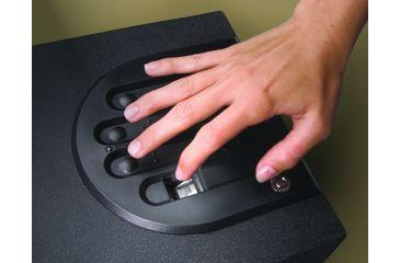 fingerprint lock boxGunVault Bio MiniVault Biometric Pistol Safe FREE SH GVB1000 ESTLo9rv