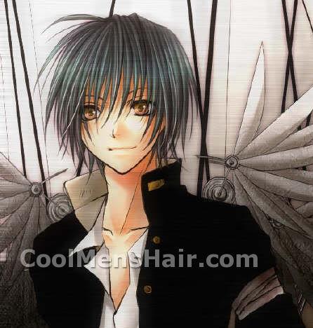 fringe anime hairstyles maleJapanese Anime Hairstyles For Boys Men Cool Mens Hair KBRmESdK