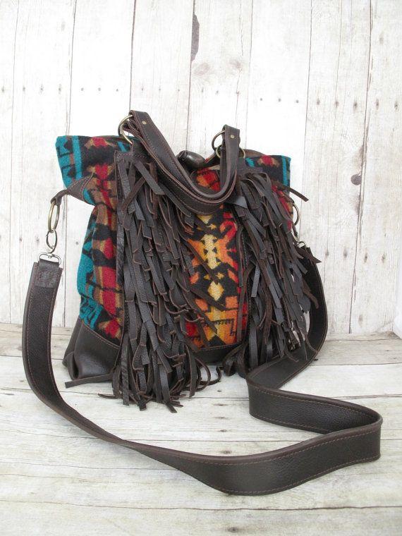 fringe bag oregon ducksBrown Leather Bag Fringe Bag Tote Leather Messenger Leather Bag 5JAInsu5