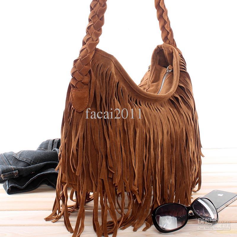 fringe bags 2013Wholesale Totes   Buy NEW 2013 Hot Dropship Lady Bags Suede SKMIzV2u