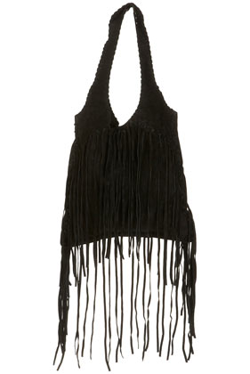 fringe bags topshopTopshop   Black Suede Fringed Shopper Bag customer reviews SOLTLL9M
