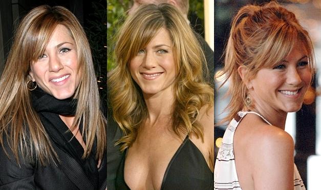 fringe bangs jennifer aniston hairstyles 2012Jennifer Aniston Hair     30 Jennifer Aniston Hairstyle Pictures   Elle MdLf5l1T