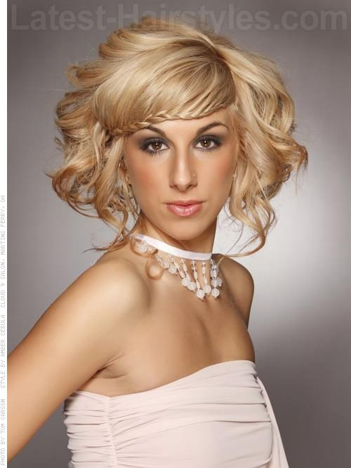 fringe best short hairstyles for long faces13 Sensational Short Hairstyles for Long Faces bOwD0Dwi
