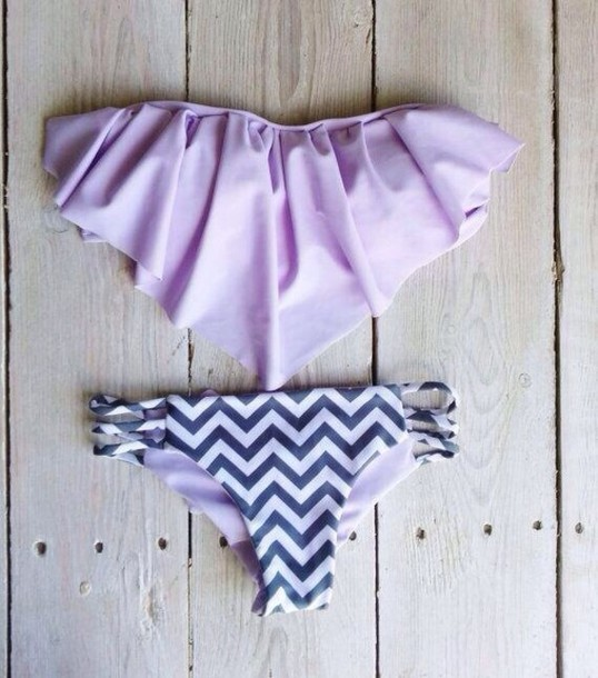 fringe bikini chevron jobsThe best bikini lavender   Wheretoget F3Bl6vii