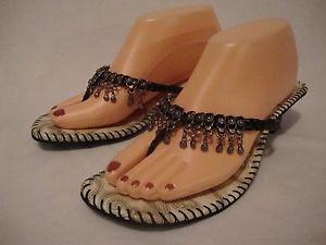 fringe black sandals size 10_35JPG JlwhM8AH