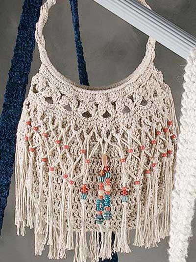 Free Crochet Handbag Patterns Purse Page 2