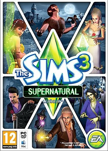 the sims 3 supernatural release date ukPictures of The Sims 3  Supernatural   Gamereactor UK RsZAMEGo