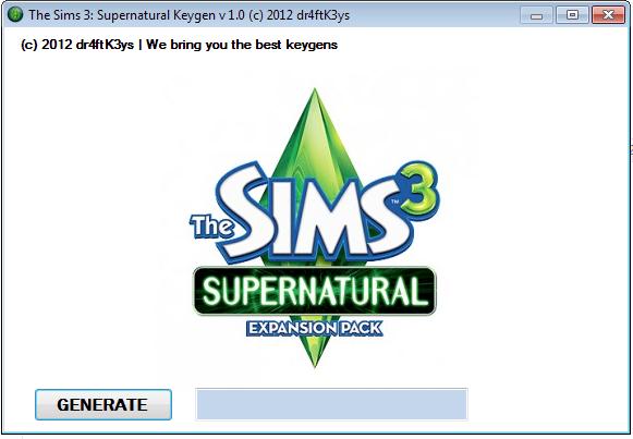 the sims 3 supernatural serialThe Sims 3  Supernatural Keygen and Serials for free qPJDLsuC