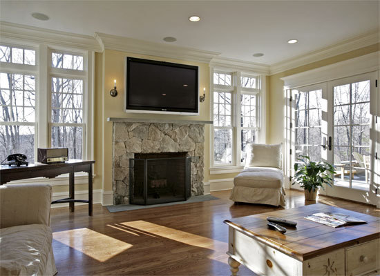 tv large niche decorating ideasHow Can You Fix an Old TV Niche Above a Fireplace    QA kqtinFds