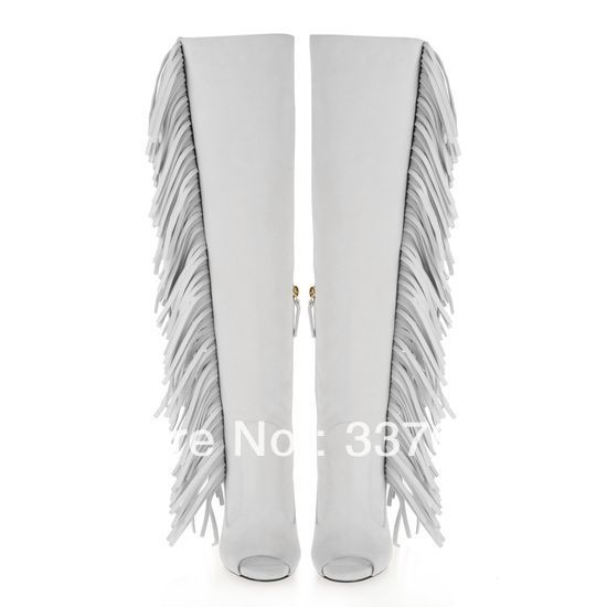 white fringe boots womenAliexpresscom   Buy Free shipping 2103 New Giuseppe GZ shoes Zxk57mO2
