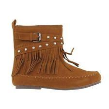 womens fringe boots size 8.5pierre dumas boots eBay yi9aIOC1
