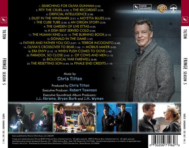 2013 is fringe coming back for another seasonFRINGE Season 5 Soundtrack Cover Art Full Track Listing   Seriable Bmfc2k4n