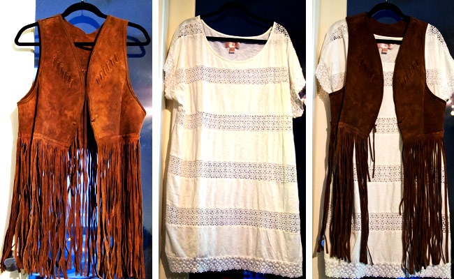 70s fringe vestsPosing in Vintage   Vancouver Fashion Blog  leather suede fringe vest mLNTRk1Z