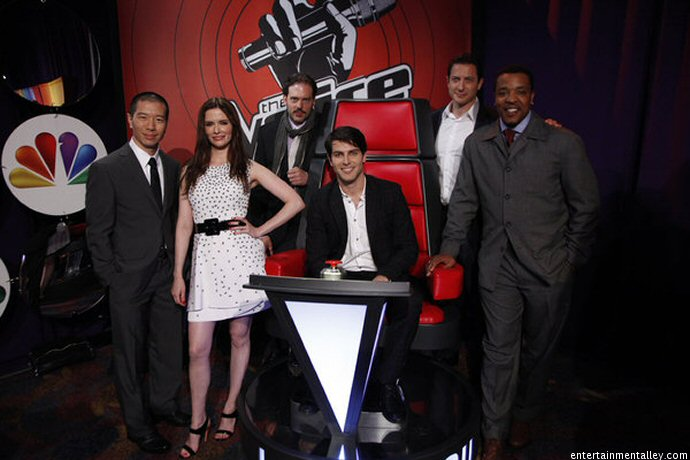 actor who plays cast of grimm on nbcNBCs The Voice     The cast of Grimm looks pretty good in our Big Uh3ghlmT