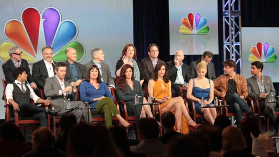 actors in the tv show smashTCA  Smash  Cast and Producers on Glee Comparisons Broadway xBdBTAoe