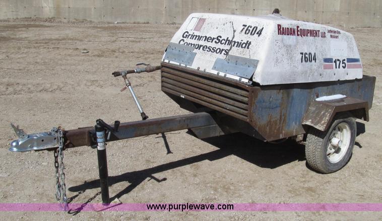 air filter for grimmer schmidt 1250 air compressorGrimmer Schmidt 175 portable air compressor no reserve auction o3OG8hFr