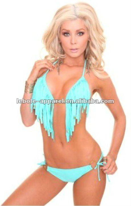 bandeau fringe bikini topL  Space Dolly Fringe Bandeau Bikini Top   Buy Fringe Bikini aV2Au9XP