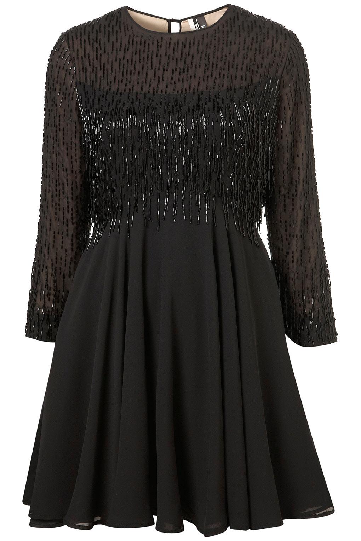 beaded fringe flippy dressCover Shoppeguide Julekjoler GCqXG627