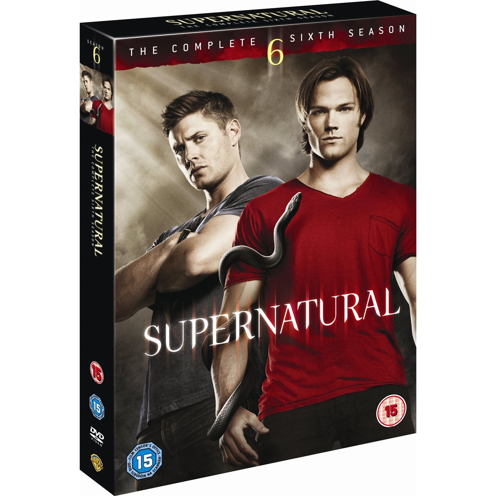 best buy supernatural season 6 dvdPlaycom   Buy Supernatural  Season 6 Complete Box Set  6 Discs d3wkQ9yW