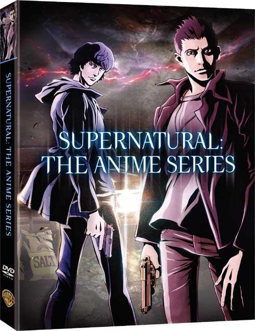 best supernatural anime series dvdSupernatural  The Animation DVD news  Box Art for Supernatural 5lGA9crF