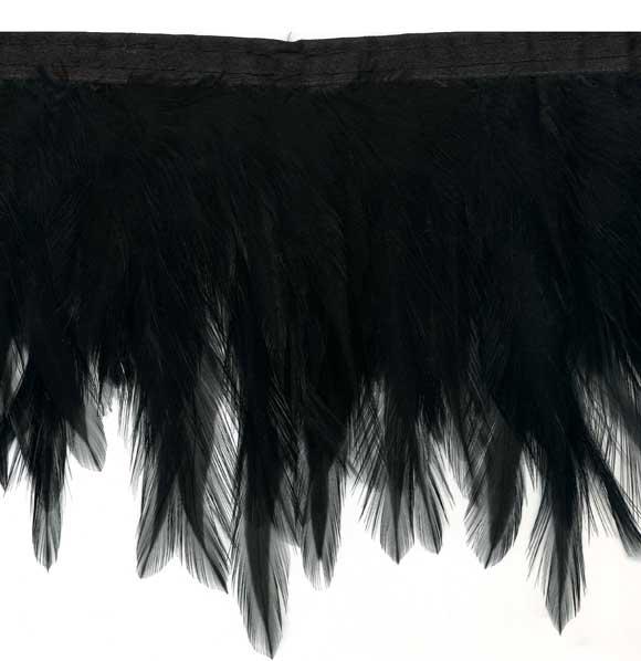 black feather fringe trimFeather Fringe Trim Black Feather Wings OFzbPSVl