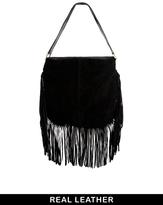 black fringe bag asosBlack Suede Fringe Bag   ShopStyle H7XqBgqX