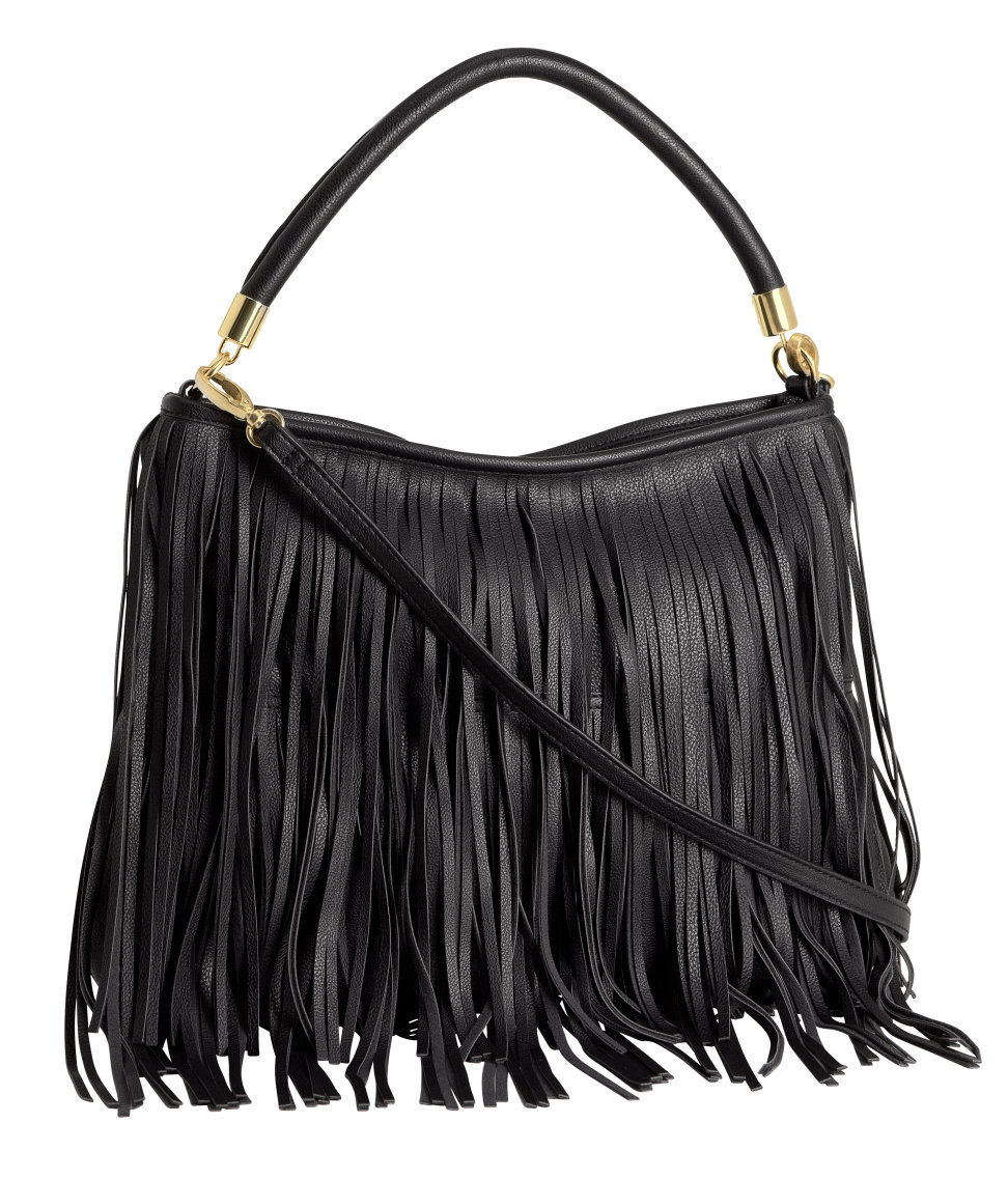 black fringe bag h&mCute Fringed Bag   under  30  Your Style Journey sdCwIXi4