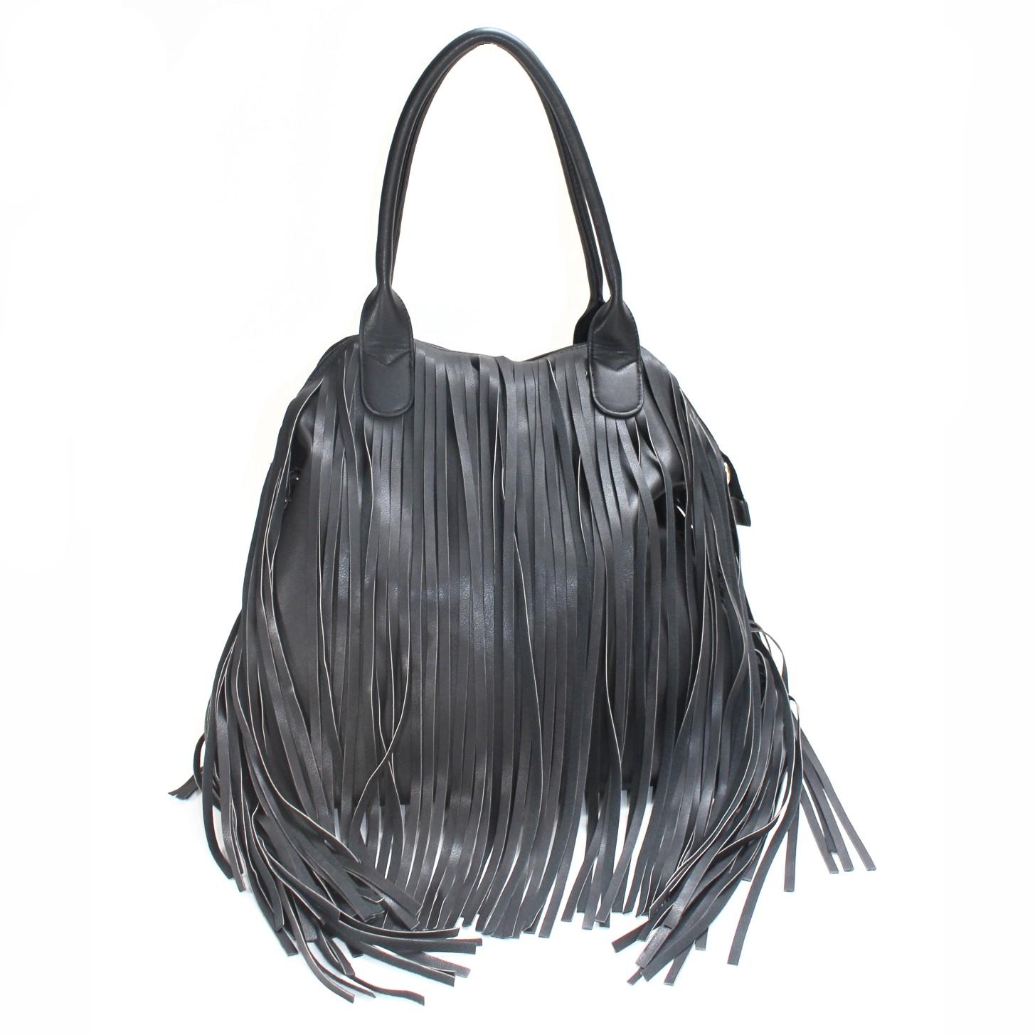 black fringe bagLazenay Fringe Bag in Black S87lBh6E