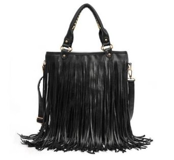 black fringe purse amazonAmazoncom  Brighdeal 2013 High Quality Lady Student Punk Tassel DAOyTGqf