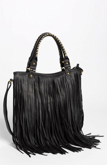 black fringe purse nordstromBP Faux Leather Fringe Hobo Bag Nordstrom CT4cGVa8
