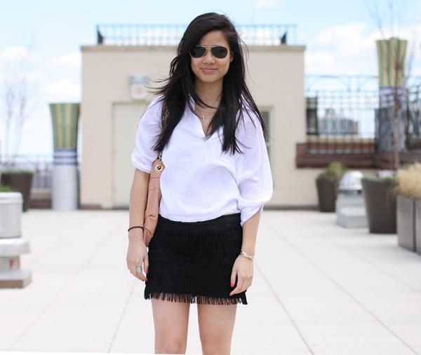 black fringe skirt zaraPS Its Vida  Zara Fringed Mini rzUE5eFl
