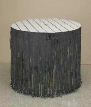 black fringe table skirtsBlack Fringe Table Skirting 12 x 29  Table Skirts a8l4F9fC