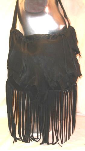 designer black leather fringe purseArtisan Fringe Purse in Softest Black Deerskin by dleather on Etsy lQeAv9uy